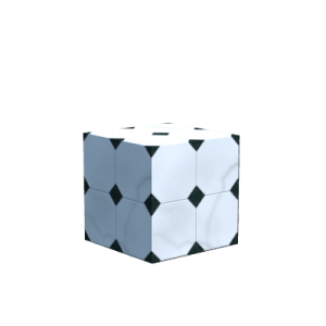 Pillar Quartz Block<br>155:2<br>(Ocean, River)<br>